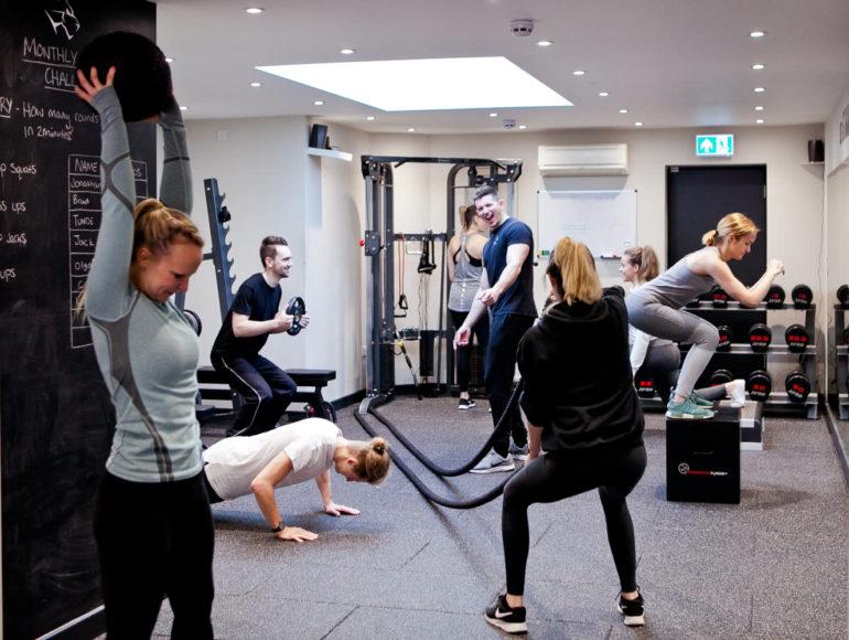 Progressive Fitness Circuit Class